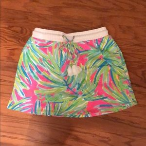 Lilly Pulitzer elastic waist terry knit skirt